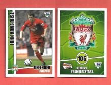 Liverpool John Arne Riise 105 (MPS)